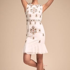 Ivory dress with beautiful beading!